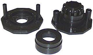 Set 2 boccole slide per asta passante calcio balilla FAS - GA59D, Argento