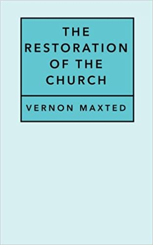 Amazon com: The Restoration of the Church (9781545011133): Rev