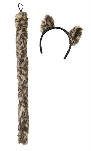 Cougar Costume (COUGAR EARS AND TAIL SET)