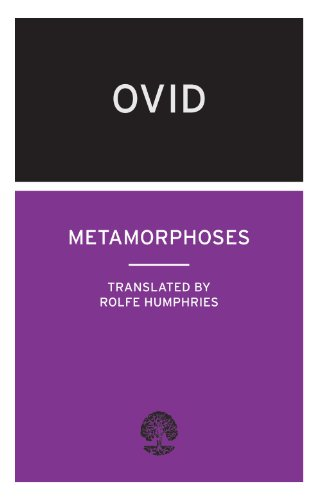 Book cover for Metamorphoses