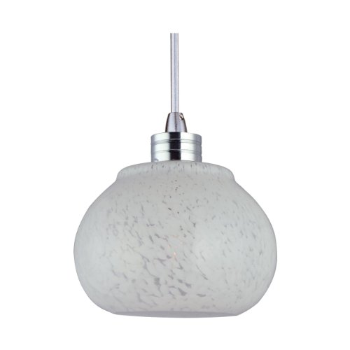 ET2 Lighting EP96003-10SN Minx Snow White RapidJack Mini Pendant ()