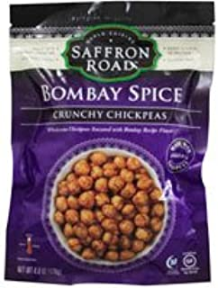 product image for Saffron Road Crunchy Chickpeas Gluten Free Bombay Spice - 6 oz