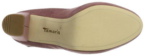502 Tamaris 3 UK Closed Black Mauve Pink Pumps Toe WoMen 24408 ZZwqSv