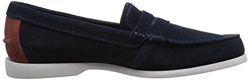 Lacoste Men's Navire Penny 216 1 Slip-On Loafer, Navy, 9.5 M US by Lacoste (Image #7)