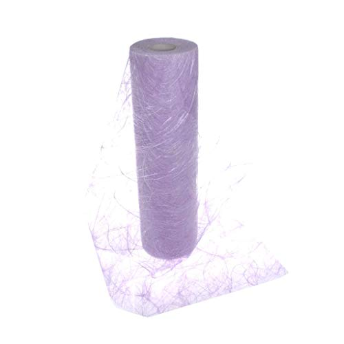 Sizoweb Table Runner Lavender: Beautiful, Reusable, Easy to use and Customizable in Length (Cut & go) - Perfect for Decorating Seasonal, Wedding, Dinner and Party Tables (Covers 10 8ft ()