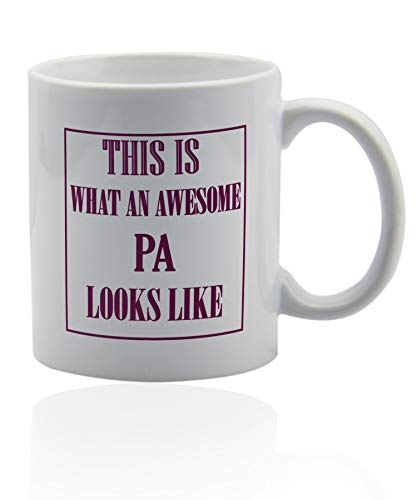 (Physician assistant gifts 11 oz. white ceramic cup. Pa mug.)
