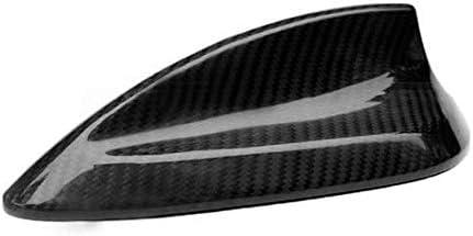 SENLINSQ カーボンファイバーシャークフィンアンテナカバートリム、BMW 1 2 3 4シリーズ用F20 F22 F23 F30