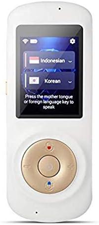 LBYMYB インテリジェント音声翻訳デバイス インスタント音声言語、インテリジェント双方向、WiFi 2.4インチタッチスクリーンポータブル翻訳機