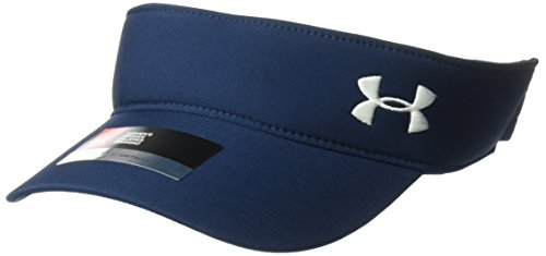 Under Armour Women's Links Visor 2.0, Academy Blue/White, One Size