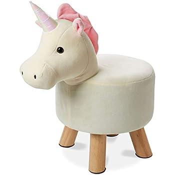 Amazon Com Tri Coastal Design Cute Unicorn Step Stool For