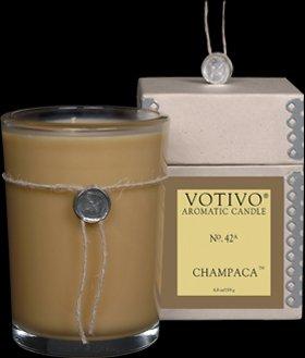 Votivo Champaca Aromatic Candle - 4 Pack