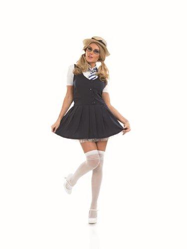 St Trinian's Costume Uk (Sexy Schoolgirl St Trinians Female Fancy Dress Costume - XL (US 18-20))