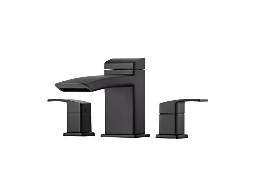 Pfister RT65D1B Kenzo Roman Tub Faucet with Trim Only, Matte Black