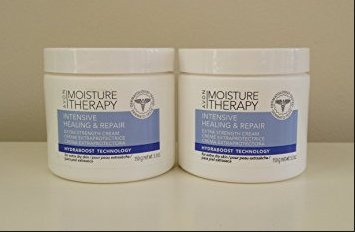 2 MOISTURE THERAPY Intensive Healing & Repair Extra Strength Creams ()