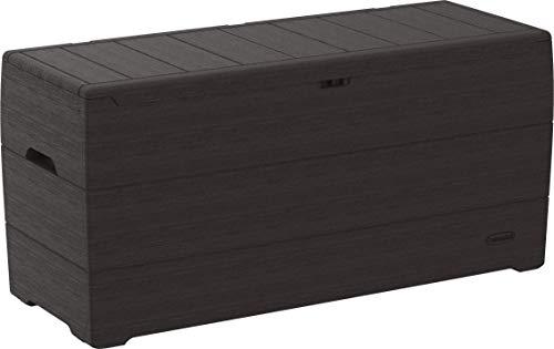 Duramax 86601 Durabox 71 Gallon Outdoor Plastic Deck Box, Garden Furniture O, Brown