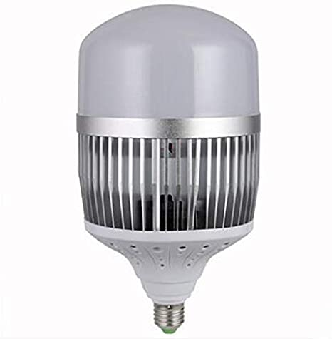 Foco LED de alta potencia de ahorro de energía bombilla Workshop Factory Building Illumination blanco luz super brillante E27 tornillo (E40), 150W: ...