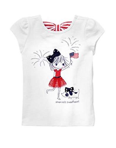 Gymboree Toddler Girls' America's Sweetheart Tee, 12-18 Months