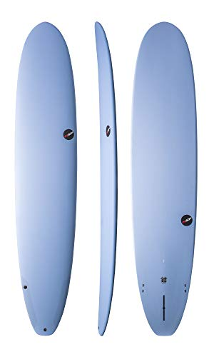 NSP PROTECH EPOXY Longboard Surfboard | FINS Included | Durable All Around Long Board SURF Board