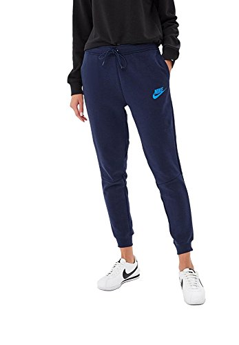 Nike Womens Sportswear Advance 15 Pants  Obsidian Signal Blue  L