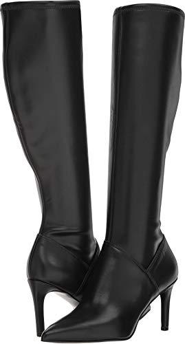 Nine West Women's Chelsis Black Synthetic 9.5 M US (Boots Rubber Nine West)