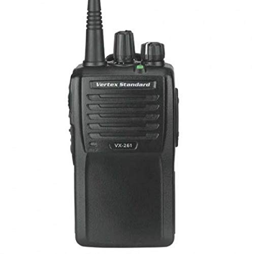 Vertex Standard Original VX-261-D0-5 VHF 136-174 MHz Handheld Two-Way 5 Watts 16 Channels - 3 Year Warranty