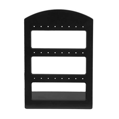 24 Holes Plastic Earring Show Display Rack Countertop Stand Organizer Holder