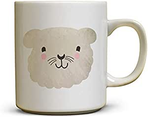 Ceramic Mug Of Coffee Or Tea From Decalac, Fixed Colors - Designed For Animals, Sty1-Anml0011