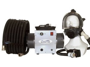 Breathecool II Supplied Air Respirator System w/fullface mask by Breathe-Cool