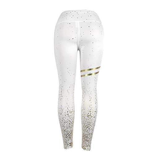 PAQOZ Women's Yoga Pants, Ladies Dots High