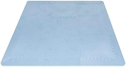 en mousse Premium Original Tapis puzzle matelass/é pour enfant Lubabymats EVA Mint Qualit/é et Rembourrage extra Grand Tapis de jeu /épais pour b/éb/é de couleur menthe