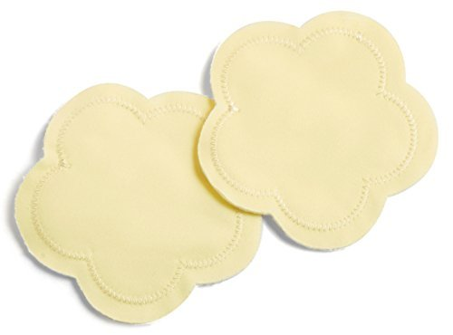 Contoured Washable Reusable Bamboo Nursing Pads   Organic Bamboo Breastfeeding Pads, Ultra-Soft Velvet Flower Pads   10 Pack with 2 Bonus Pouches & Free E-Book   Perfect Baby Shower Gift
