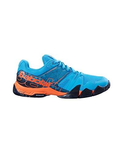 Babolat PULSA Azul Naranja 30S19689 298: Amazon.es: Zapatos ...