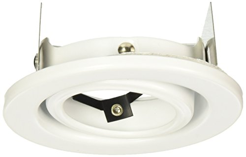 WAC Lighting HR-837-WT Recessed Low Voltage Trim Mini Round (Low Voltage Mini Trim)