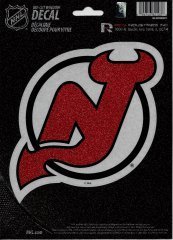 - Rico Industries NHL New Jersey Devils Bling Die Cut Window Decal with Glitter Accent