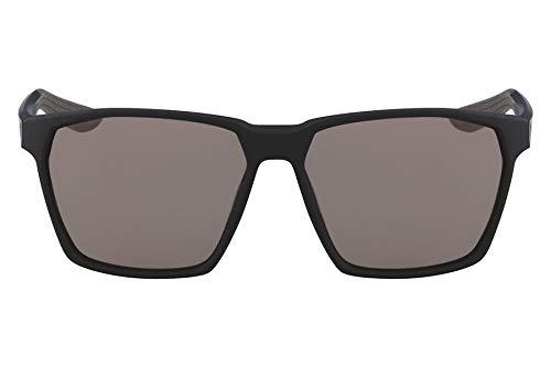 Óculos Nike Nike Maverick E Ev1096 002 Preto Fosco Lente Cinza Flash Tam 59