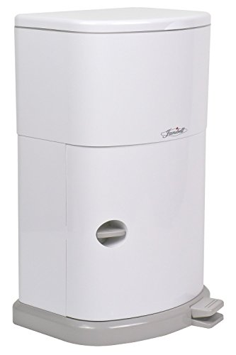 (JANM330DAEA - AKORD Adult Diaper Disposal System, White)