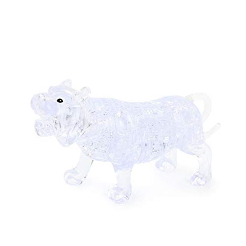 Hoolick,Cute Tiger Model Toy,Crystal Blocks,Construction Toys,Toy - Tigers Plastic Crystal