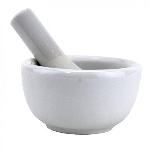 Mortar Pestle Set, Porcelain Pesto Mortar And Pestle Small (Kitchen Porcelain Asian)