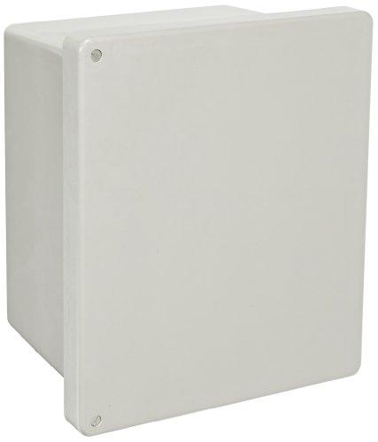 (BUD Industries NF-6613 Fiberglass NEMA Box with Screwed Cover, 11-57/64