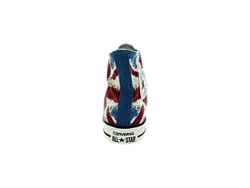 Converse Unisex Chuck Taylor Flag Print Hi Basketball Shoe Atlantic/Chili Paste/Egret finishline cheap price lVl8qwuL