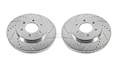 Price comparison product image Power Stop AR8590XPR Front Evolution Drilled & Slotted Rotor Pair