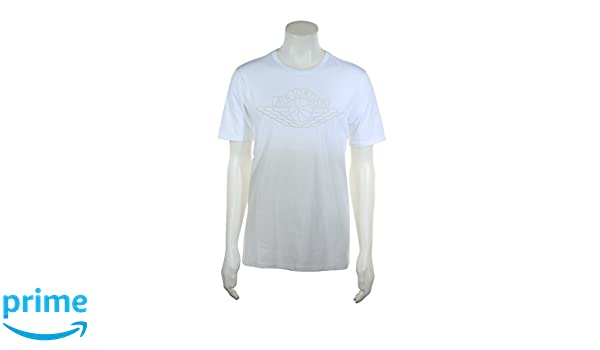 2a77971c487911 843138-101 MEN FADEAWAY FADED TEE JORDAN WHITE LIGHT BONE White Light Bone  3X-Large at Amazon Men s Clothing store