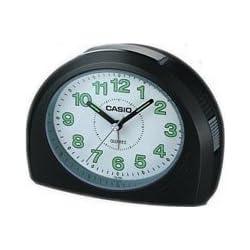 Casio TQ358-1D Bell Desktop Alarm Clock with Snooze