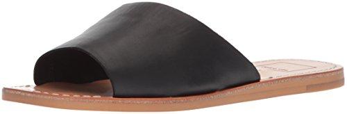 - Dolce Vita Women's CATO Slide Sandal, Black Leather, 8.5 M US