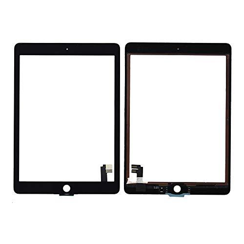 eTekGo Touch Screen Digitizer Glass Replacement for iPad Air 2nd Gen,A1566,A1567 - Ipad 2nd Gen Glass Replacement
