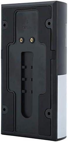 【berryause】 WF06ホームスマートワイヤレスWIFIドアベル低消費電力防水ビジュアルカメラドアベルホームセキュリティに適合(シルバー&WF06)