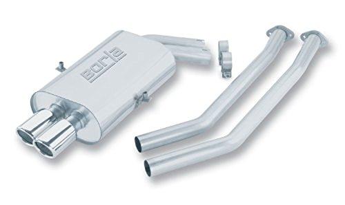 Borla 14553 Cat-Back System (Borla Bmw Rear Exhaust System)