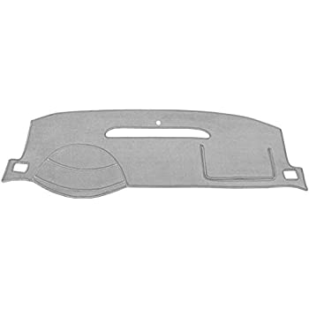 Seat Covers Unlimited Chevy Trailblazer Dash Cover Mat Pad Custom Carpet, Silver Fits 2002-2009