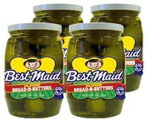 Best Maid Jalapeno Bread-N-Butters 16 Oz by Best Maid Products