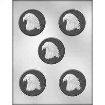 - 3 Pack, Eagle Medallion Choc Mold